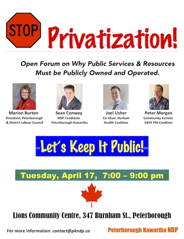 Stop Privatization