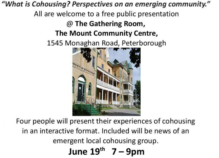 Cohousing Invitation